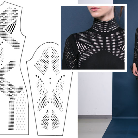 Laser-Cutting Textiles for Fashion Design [ENG]